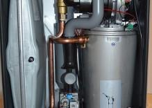 Partes de una caldera de gas en viviendas
