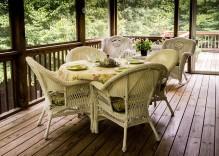 Ideas para porches para jardín, pérgolas y cenadores
