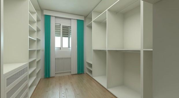 5 ideas para hacer un vestidor en una habitación