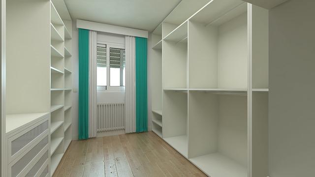 ideas para hacer un vestidor en una habitación