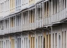 Acristalamiento de terrazas sin perfiles en viviendas