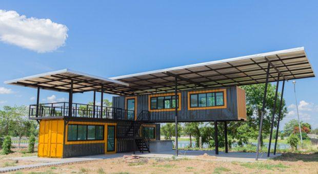 Casas con contenedores marítimos: más que una moda
