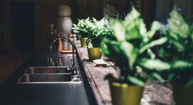 Distribución en las cocinas minimalistas pequeñas